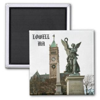 LOWELL MASSACHUSETTS CITY HALL MAGNET