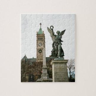 LOWELL MASSACHUSETTS CITY HALL PUZZLE