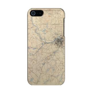Lowell, Massachusetts Metallic iPhone SE/5/5s Case