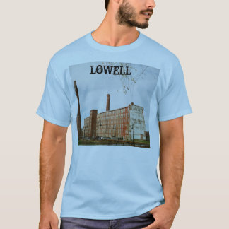Lowell Massachusetts Mill Building T-Shirt