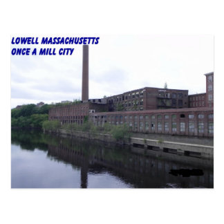 Lowell Massachusetts Mills Postcard