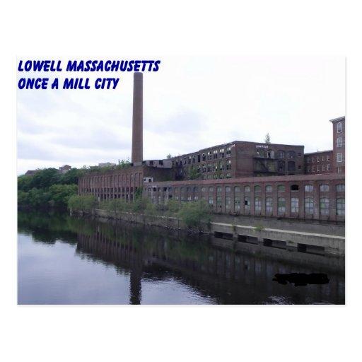 Lowell Massachusetts Mills Postcard