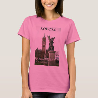 LOWELL, MASSACHUSETTS T-SHIRT