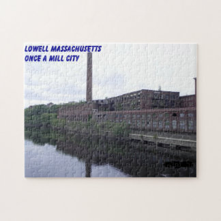 LOWELL ONCE A MILL CITY PUZZLE