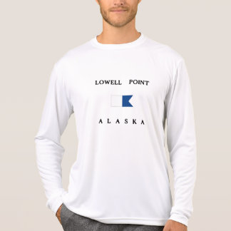 Lowell Point Alaska Alpha Dive Flag T-Shirt