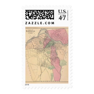 Lowell Postage Stamp