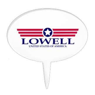 Lowell Pride Cake Toppers