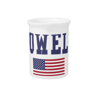 Lowell US Flag Beverage Pitcher