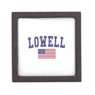 Lowell US Flag Jewelry Box