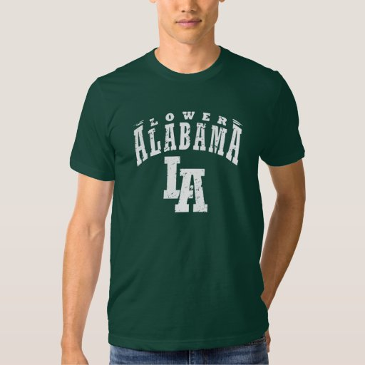 Lower alabama t shirt zazzle for T shirt printing mobile al