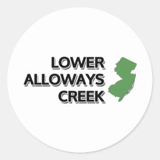 Lower Alloways Creek, New Jersey Classic Round Sticker