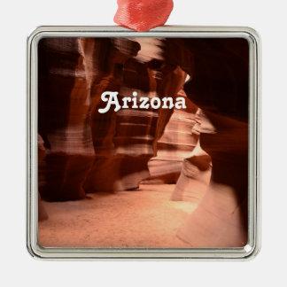 Lower Antelope Canyon Metal Ornament