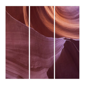 Lower Antelope Canyon Triptych