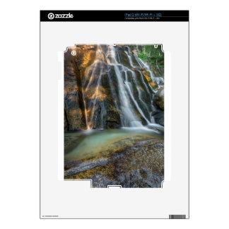 Lower Bell's Canyon Waterfall iPad 2 Skins