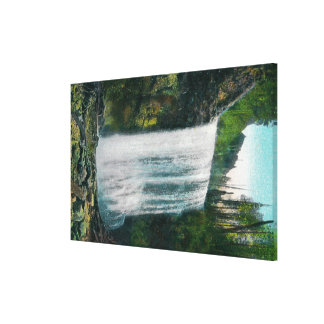 Lower Bridal Veil Falls on Colubia River Canvas Print