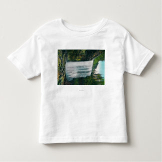 Lower Bridal Veil Falls on Colubia River Toddler T-shirt