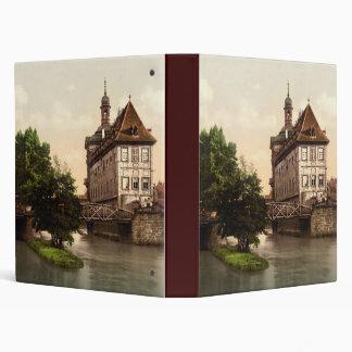 Lower bridge and city hall Bamberg Bavaria Binder