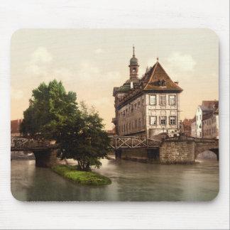 Lower bridge and city hall Bamberg Bavaria Mouse Pad