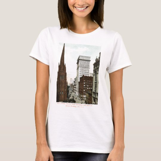 Lower Broadway NY 1897 Vintage T-Shirt