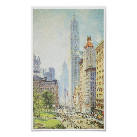 Lower Broadway Poster