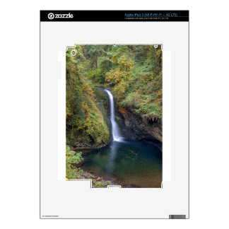 Lower Butte Creek Falls Plunging into a Pool iPad 3 Skins