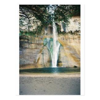 lower calf creek falls postcard