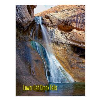 Lower Calf Creek Falls, Utah Postcard