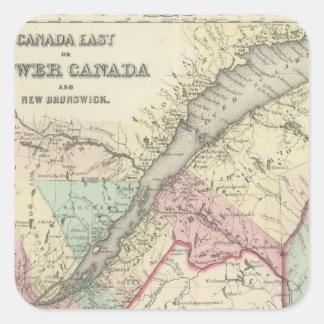 Lower Canada 2 Square Sticker