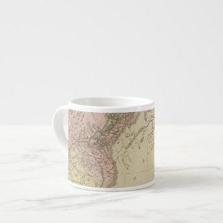 Lower Canada and New Brunswick Espresso Cup