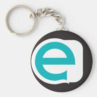 Lower Case E Keychain