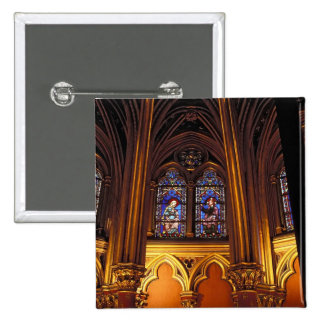 Lower chapel of La Sainte-Chapelle, Paris, 2 Button