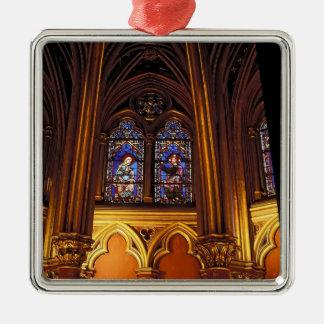 Lower chapel of La Sainte-Chapelle, Paris, 2 Metal Ornament