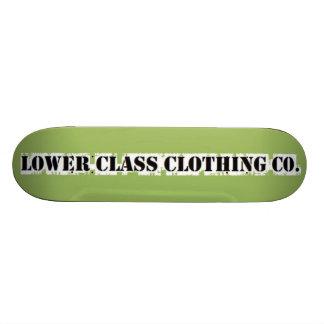 lower class clothing co skateboard deck