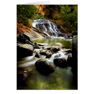 Lower Crystal Creek Falls Card