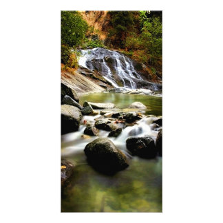 Lower Crystal Creek Falls Picture Card