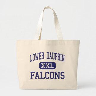 Lower Dauphin - Falcons - High - Hummelstown Jumbo Tote Bag