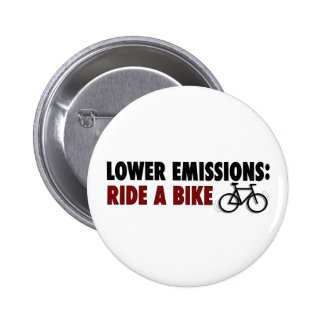 Lower Emissions Ride A Bike Buttons