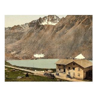 Lower Engadine, Fluela Hospice, Grisons, Switzerla Postcard