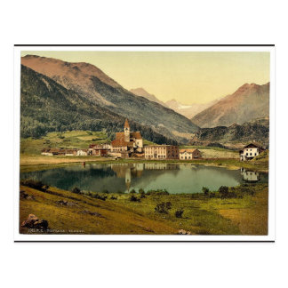 Lower Engadine, Tarasp, Fontana, Grisons, Switzerl Post Card