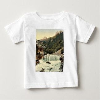 Lower Engadine, Tarasp, waterfall, Grisons, Switze Infant T-shirt
