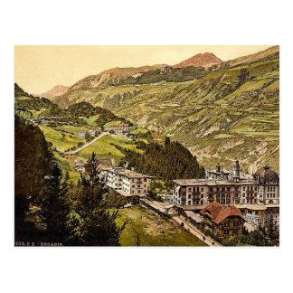 Lower Engadine, Vulpera and Fetan, Grisons, Switze Post Card