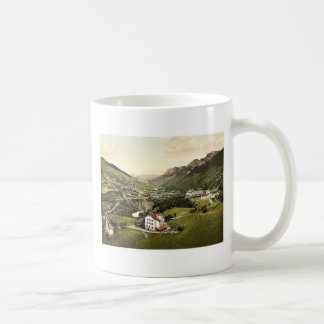 Lower Engadine, Vulpera, general view, Grisons, Sw Mugs