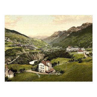 Lower Engadine, Vulpera, general view, Grisons, Sw Postcard