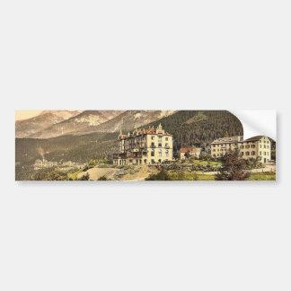 Lower Engadine, Vulpera Hotel, Schweizerhof and Be Bumper Stickers