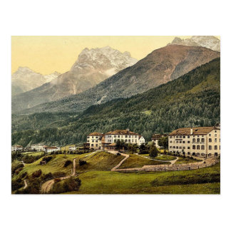 Lower Engadine, Vulpera with Mountains, Grisons, S Postcards