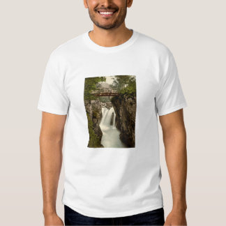 Lower Fall, Glen Nevis, Fort William, Scotland T-shirt