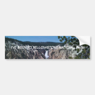 Lower Falls Bumper Sticker