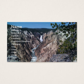 Lower Falls Business Card