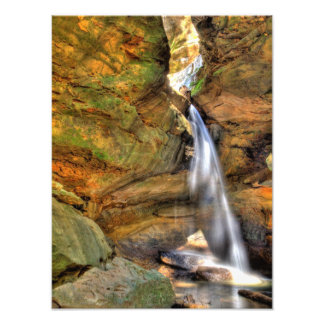 Lower Falls, Conkle's Hollow, Hocking Hills, Ohio Art Photo
