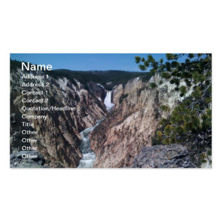 Lower Falls Double-Sided Standard Business Cards (Pack Of 100)